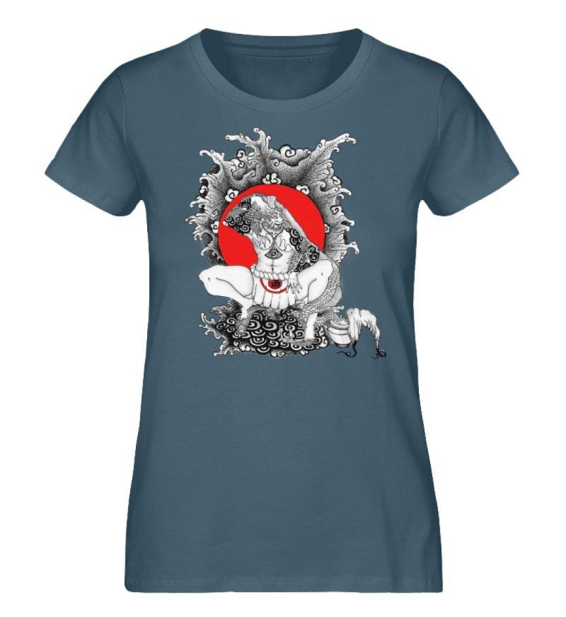 """""""Fish boy"""" von Third Eye Collective - Damen Premium Organic Shirt-6880"""