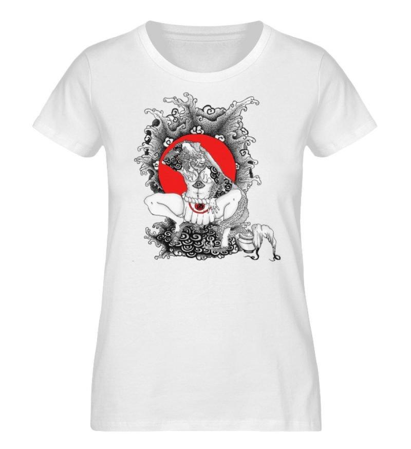 """""""Fish boy"""" von Third Eye Collective - Damen Premium Organic Shirt-3"""