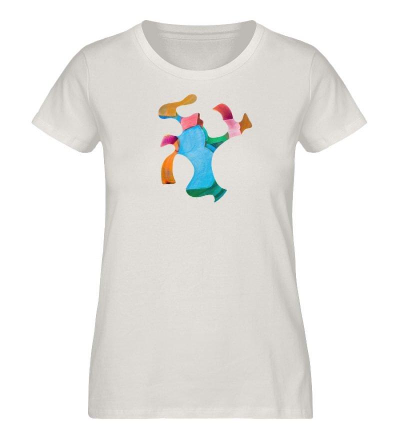 """""""Lob des Schattens 1"""" von Carolin Leyck - Damen Premium Organic Shirt-6865"""