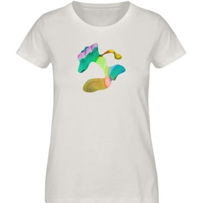 """""""Lob des Schattens 5"""" von Carolin Leyck - Damen Premium Organic Shirt-6865"""