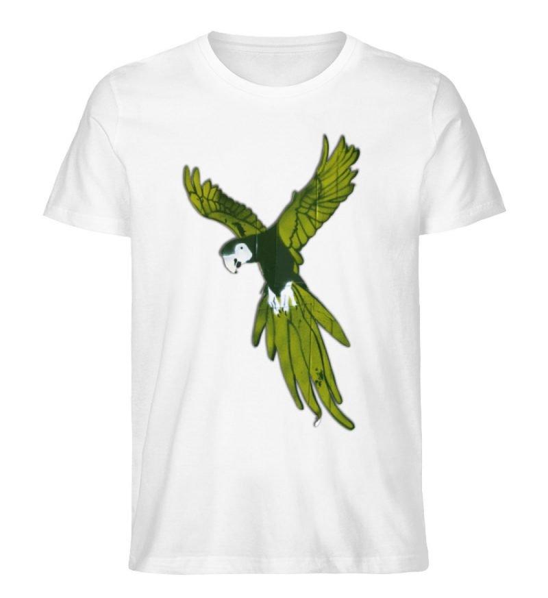 """""""Moment der Empörung"""" von Sarah Ludes - Herren Premium Organic Shirt-3"""