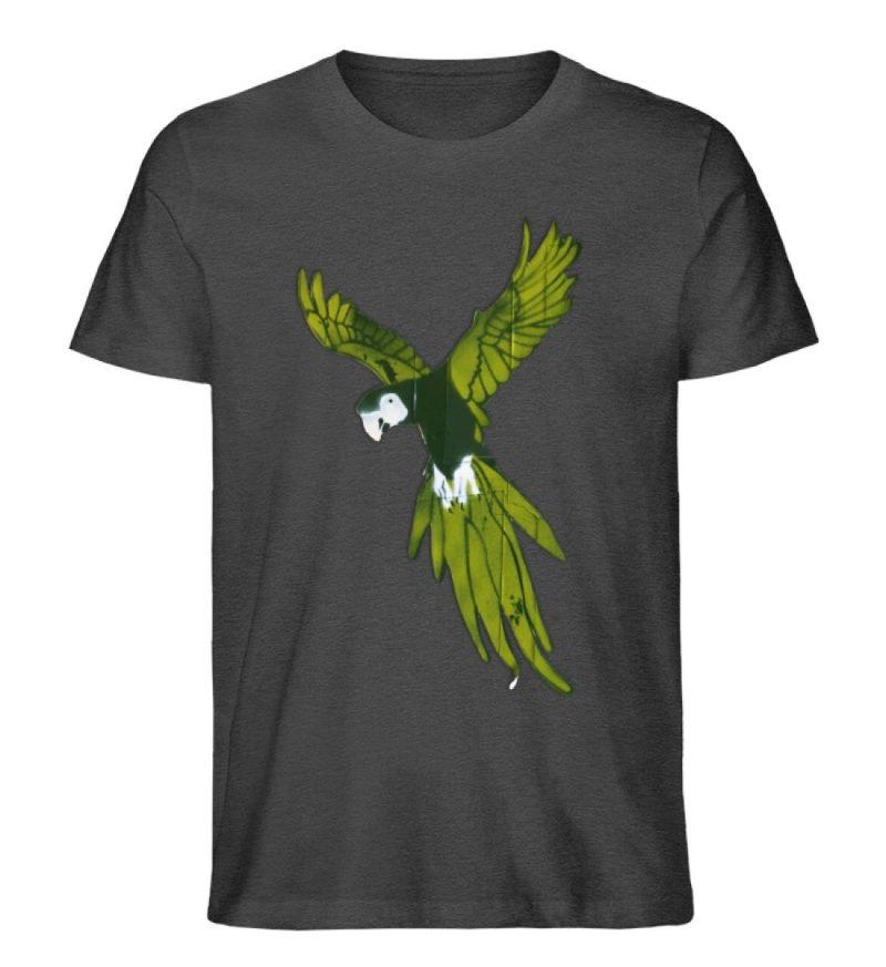 """""""Moment der Empörung"""" von Sarah Ludes - Herren Premium Organic Shirt-6881"""