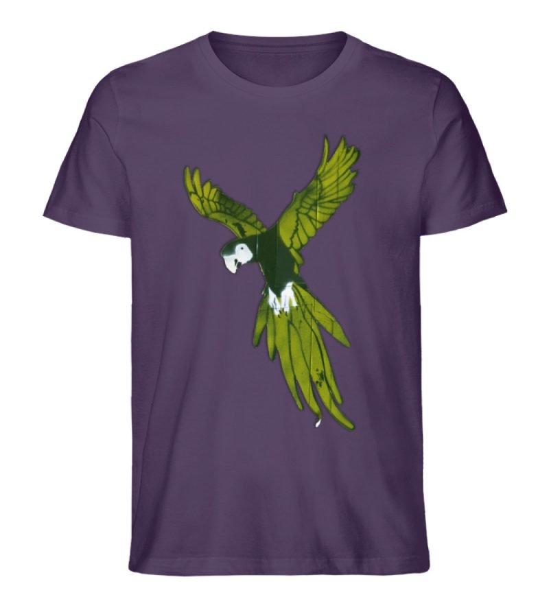 """""""Moment der Empörung"""" von Sarah Ludes - Herren Premium Organic Shirt-6876"""