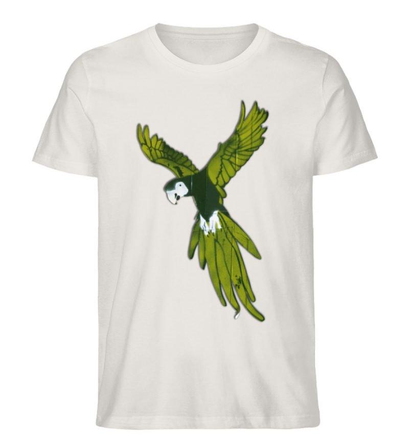 """""""Moment der Empörung"""" von Sarah Ludes - Herren Premium Organic Shirt-6865"""