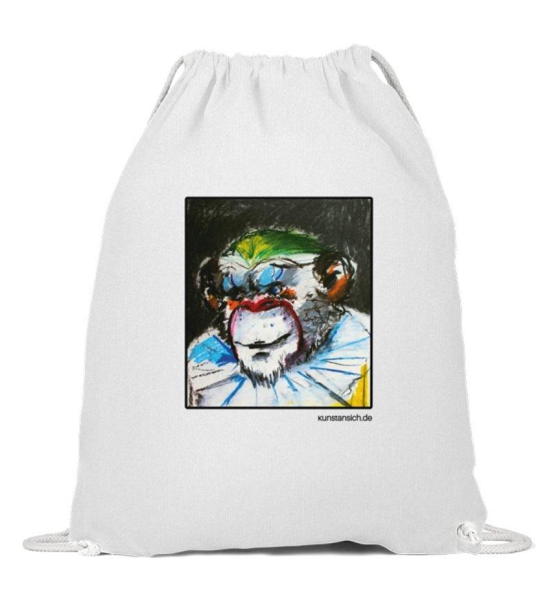 """""""Affe-Clown"""" von Sarah Ludes - Baumwoll Gymsac-3"""