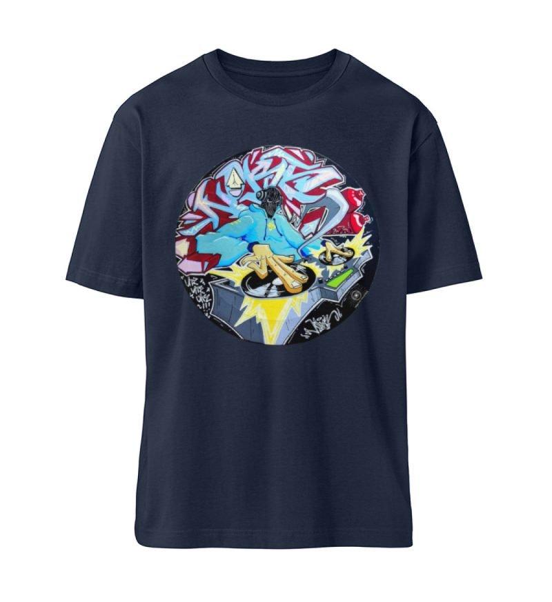 """""""Noks auf Platte"""" von Third Eye Collecti - Fuser Oversized Shirt ST/ST-6959"""