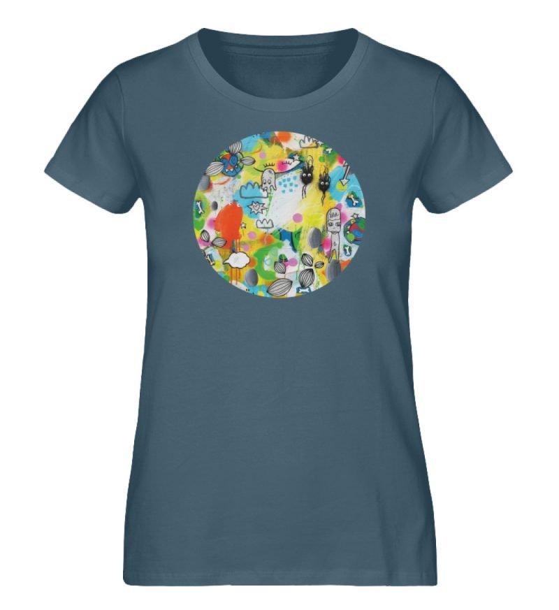 """I´ts like a jungle sometimes"" von Susan - Damen Premium Organic Shirt-6880"