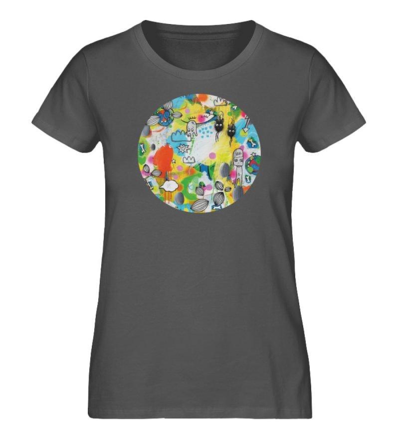 """I´ts like a jungle sometimes"" von Susan - Damen Premium Organic Shirt-6903"
