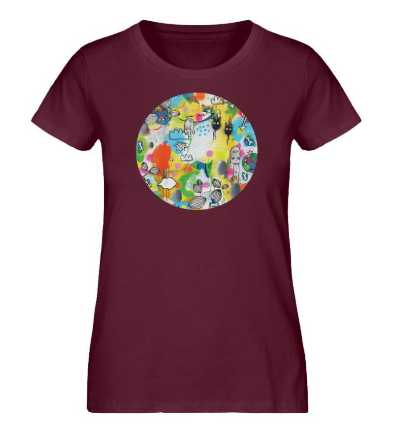 """I´ts like a jungle sometimes"" von Susan - Damen Premium Organic Shirt-839"