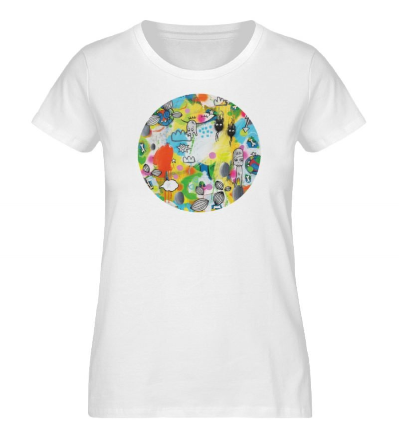 """I´ts like a jungle sometimes"" von Susan - Damen Premium Organic Shirt-3"