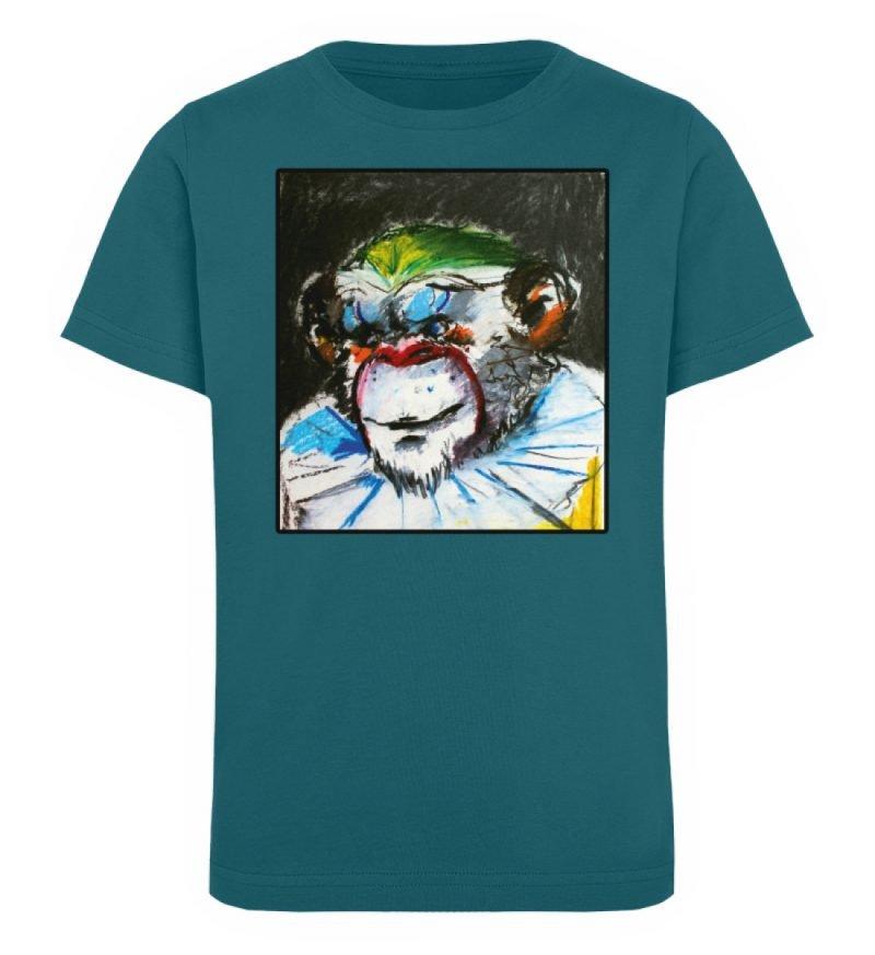 """""""Zivilgesellschaft"""" von Sarah Ludes - Kinder Organic T-Shirt-6878"""