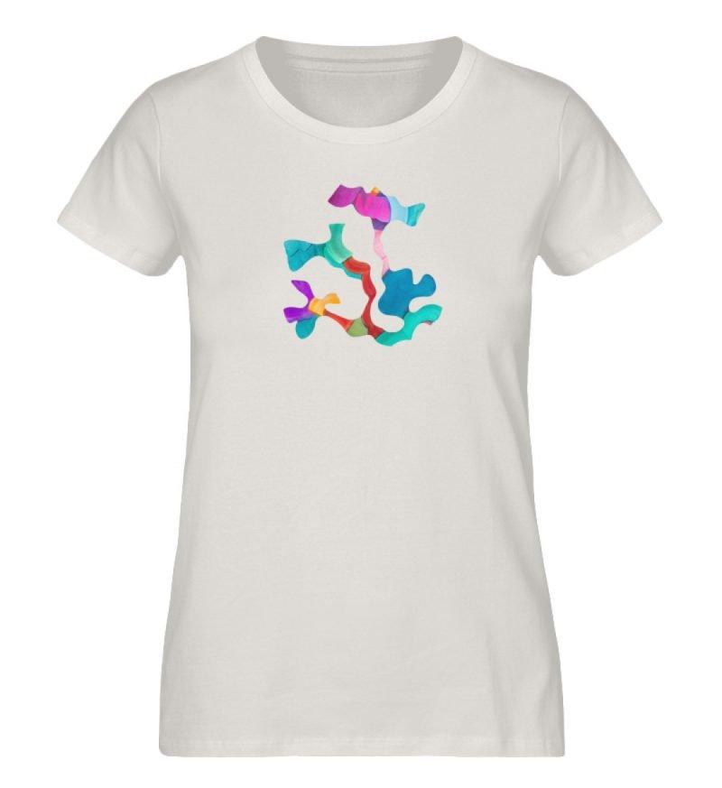 """""""Lob des Schattens 4"""" von Carolin Leyck - Damen Premium Organic Shirt-6865"""