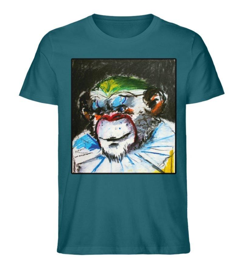"""""""Zivilgesellschaft"""" von Sarah Ludes - Herren Premium Organic Shirt-6878"""