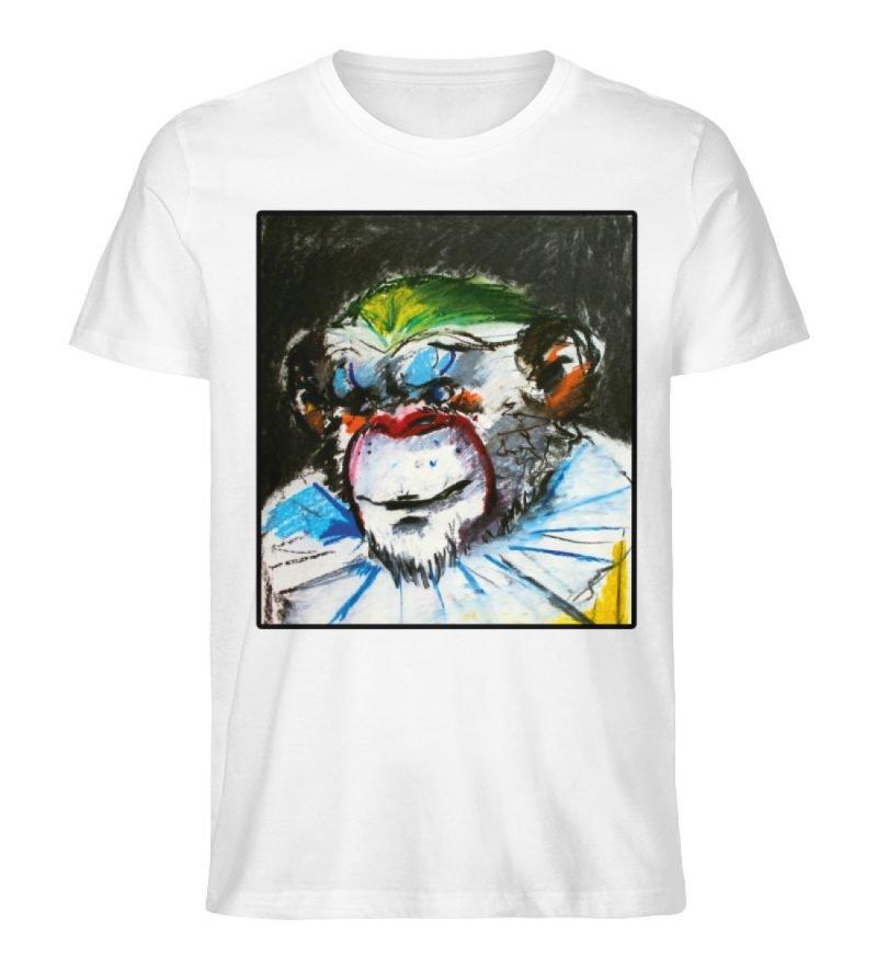 """""""Zivilgesellschaft"""" von Sarah Ludes - Herren Premium Organic Shirt-3"""