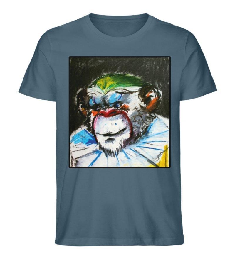 """""""Zivilgesellschaft"""" von Sarah Ludes - Herren Premium Organic Shirt-6880"""