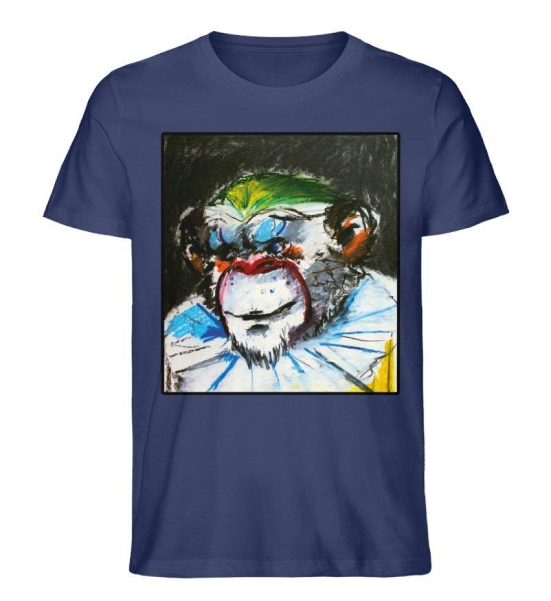 """""""Zivilgesellschaft"""" von Sarah Ludes - Herren Premium Organic Shirt-6057"""