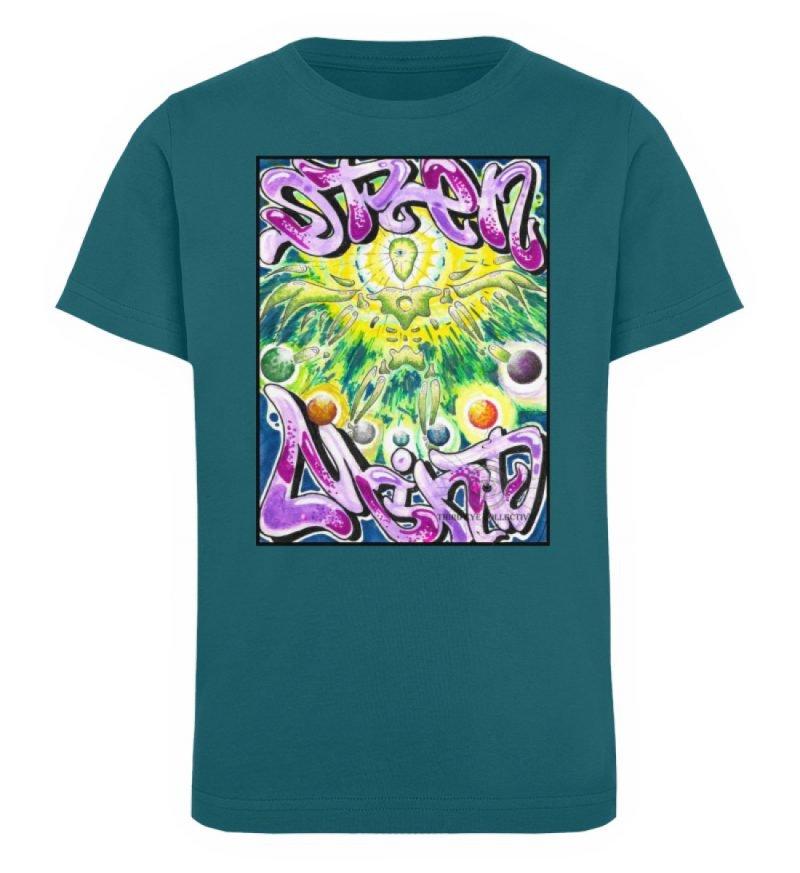 """""""Open Mind"""" von Third Eye Collective - Kinder Organic T-Shirt-6878"""