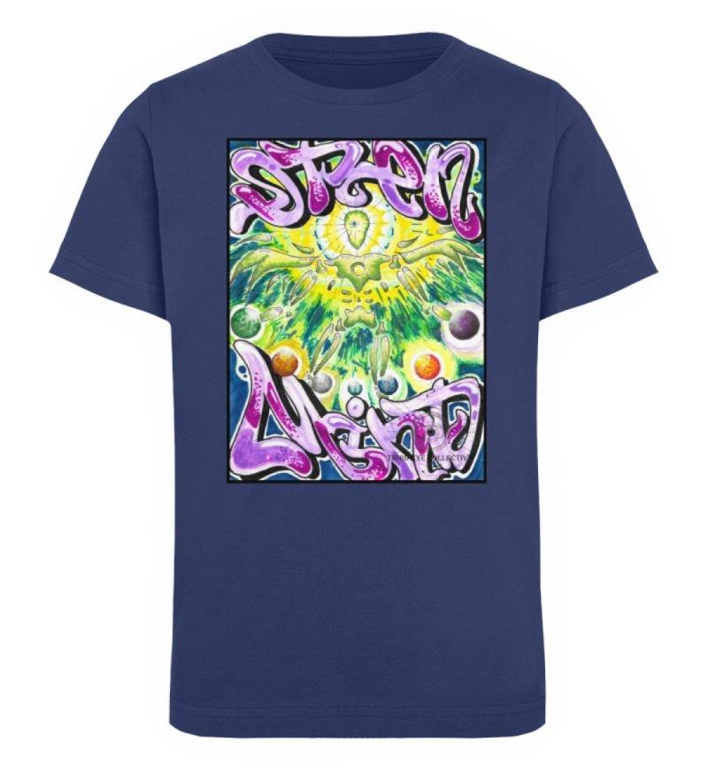 """""""Open Mind"""" von Third Eye Collective - Kinder Organic T-Shirt-6057"""