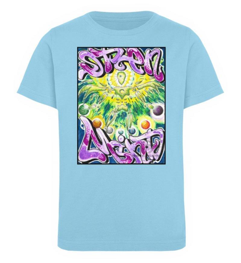 """""""Open Mind"""" von Third Eye Collective - Kinder Organic T-Shirt-674"""