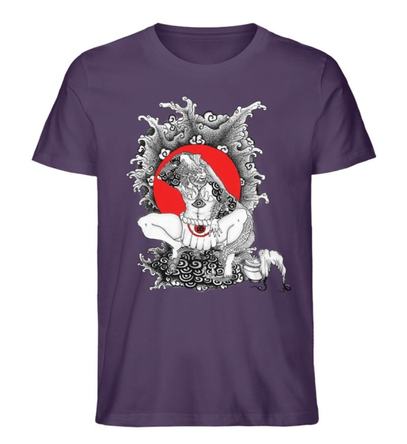 """""""Fish boy"""" von Third Eye Collective - Herren Premium Organic Shirt-6876"""