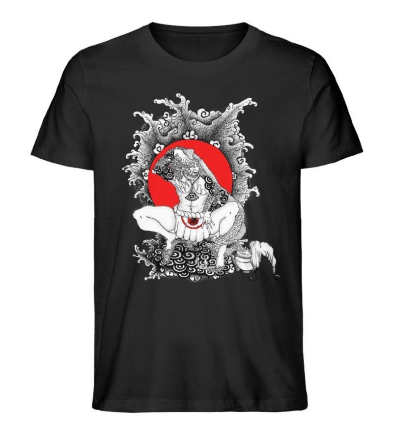 """""""Fish boy"""" von Third Eye Collective - Herren Premium Organic Shirt-16"""