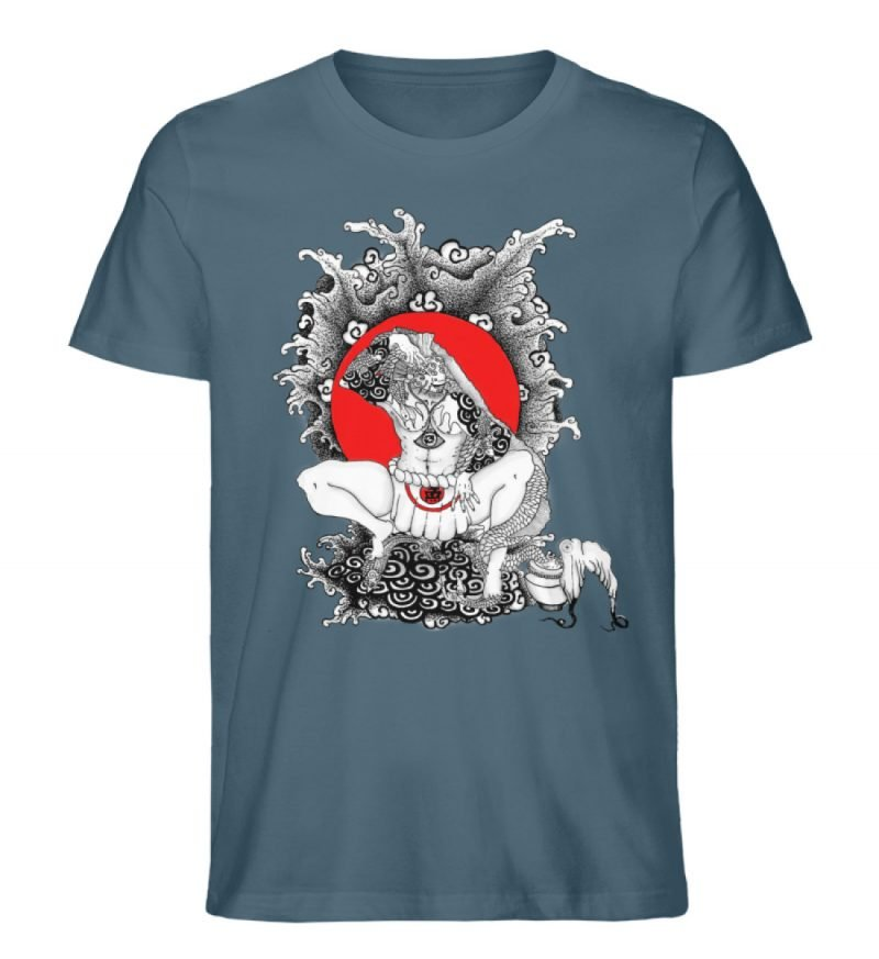 """""""Fish boy"""" von Third Eye Collective - Herren Premium Organic Shirt-6880"""