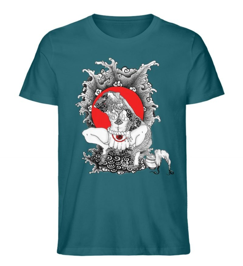 """""""Fish boy"""" von Third Eye Collective - Herren Premium Organic Shirt-6878"""