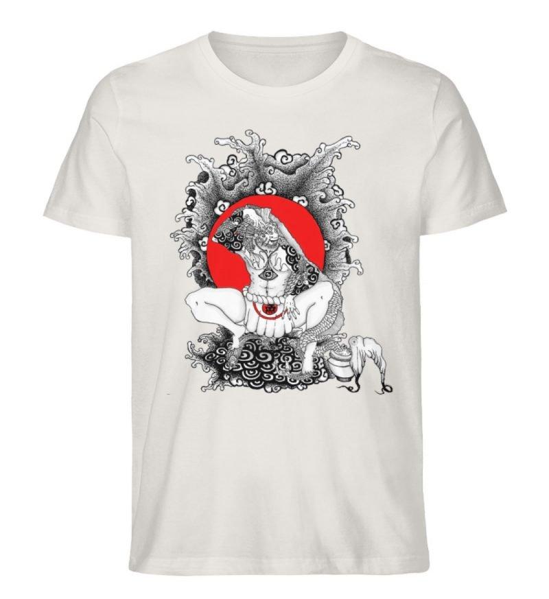 """""""Fish boy"""" von Third Eye Collective - Herren Premium Organic Shirt-6865"""