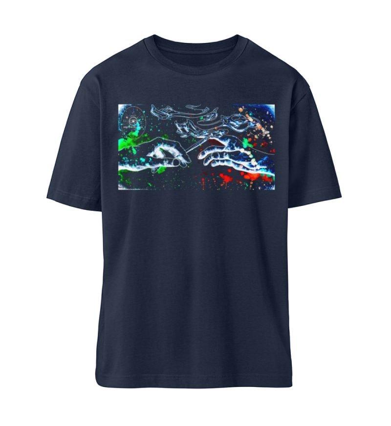 """paff paff pass"" von Third Eye collectiv - Fuser Oversized Shirt ST/ST-6959"