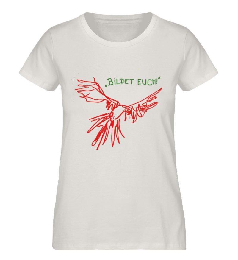 """""""Bildet euch!"""" von Sarah Ludes - Damen Premium Organic Shirt-6865"""