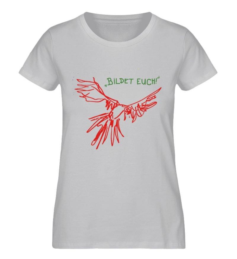 """""""Bildet euch!"""" von Sarah Ludes - Damen Premium Organic Shirt-17"""