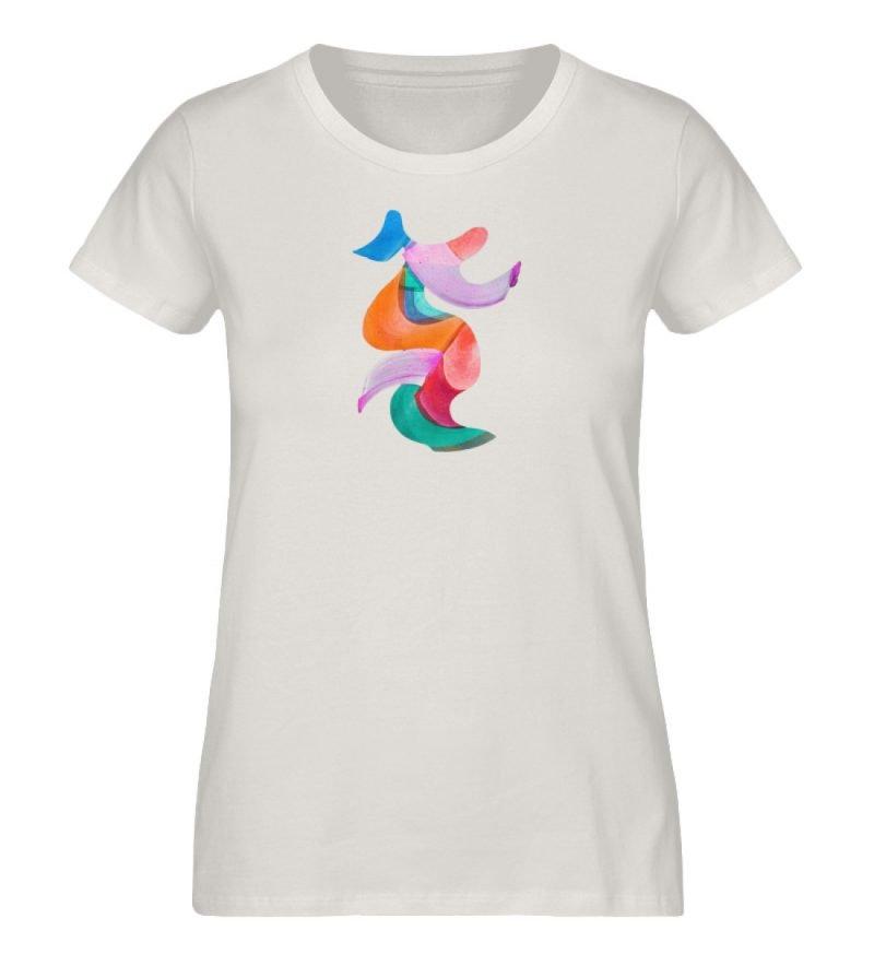 """""""Lob des Schattens 2"""" von Carolin Leyck - Damen Premium Organic Shirt-6865"""