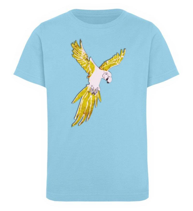"""""""Moment der Empörung"""" von Sarah Ludes - Kinder Organic T-Shirt-674"""
