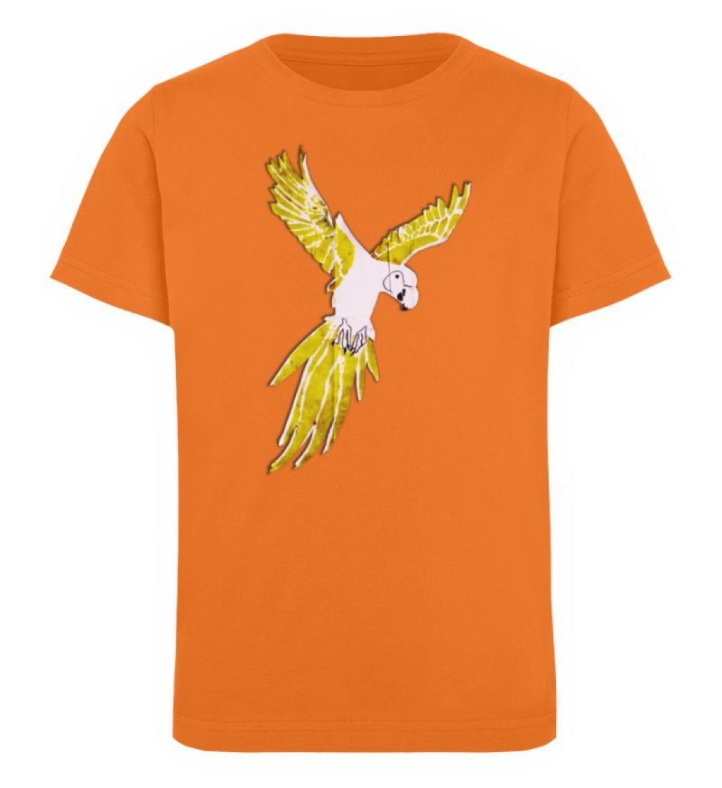 """""""Moment der Empörung"""" von Sarah Ludes - Kinder Organic T-Shirt-6882"""