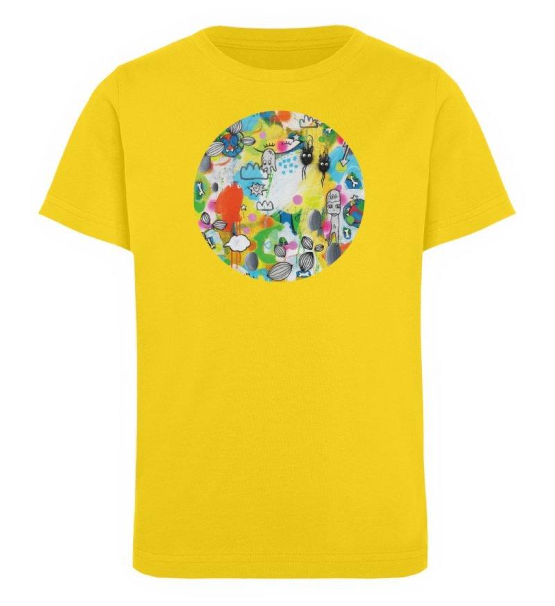 """I´ts like a jungle sometimes"" von Susan - Kinder Organic T-Shirt-6885"