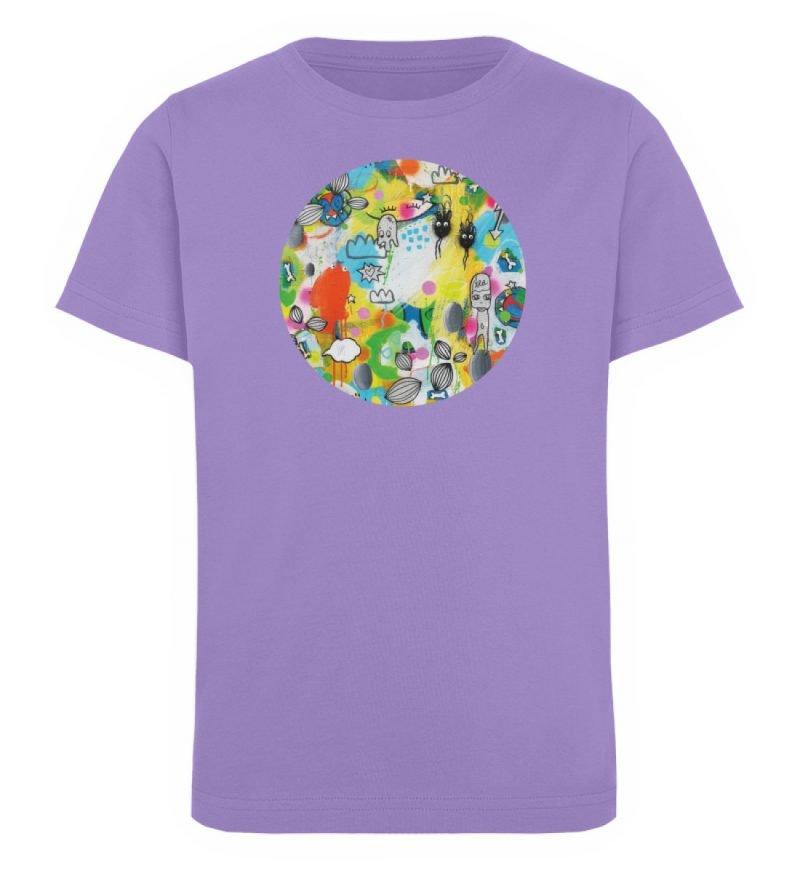 """I´ts like a jungle sometimes"" von Susan - Kinder Organic T-Shirt-6884"