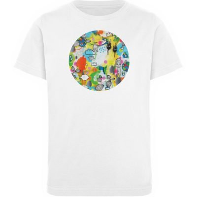 """I´ts like a jungle sometimes"" von Susan - Kinder Organic T-Shirt-3"