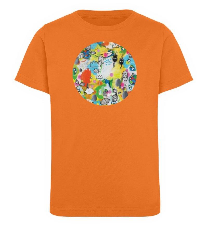 """I´ts like a jungle sometimes"" von Susan - Kinder Organic T-Shirt-6882"