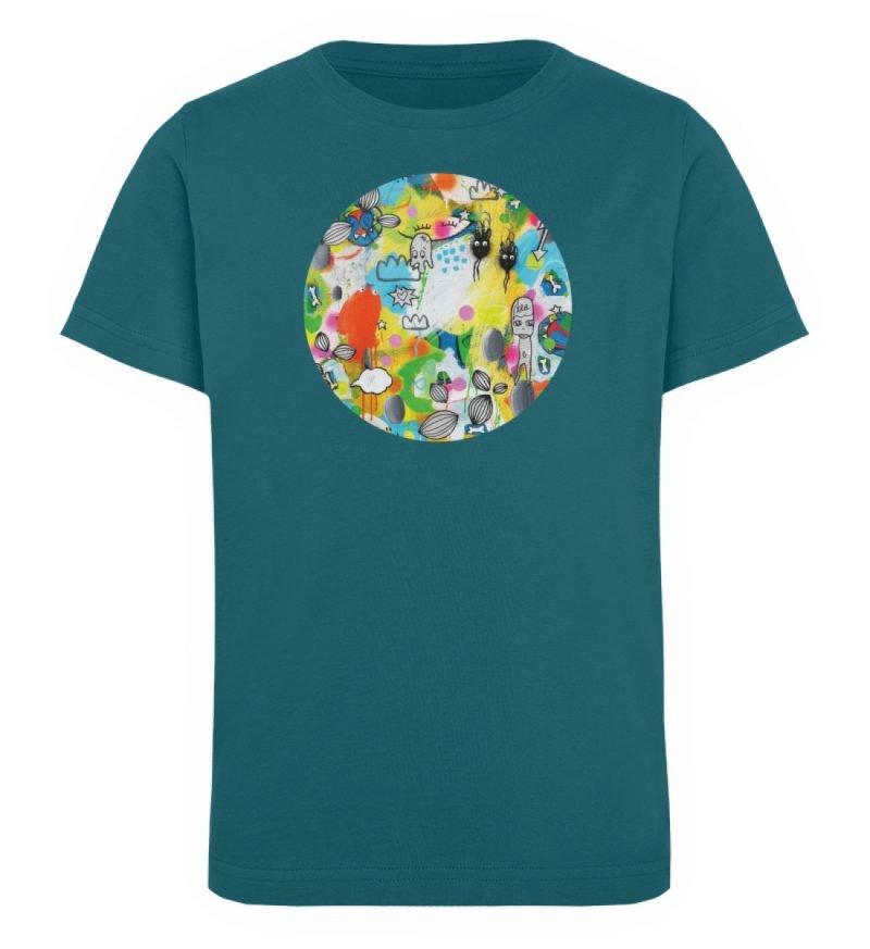 """I´ts like a jungle sometimes"" von Susan - Kinder Organic T-Shirt-6878"