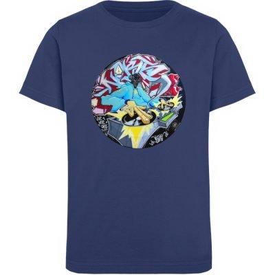 """""""Noks auf Platte"""" von Third Eye collecti - Kinder Organic T-Shirt-6057"""