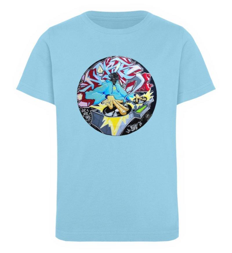 """""""Noks auf Platte"""" von Third Eye collecti - Kinder Organic T-Shirt-674"""