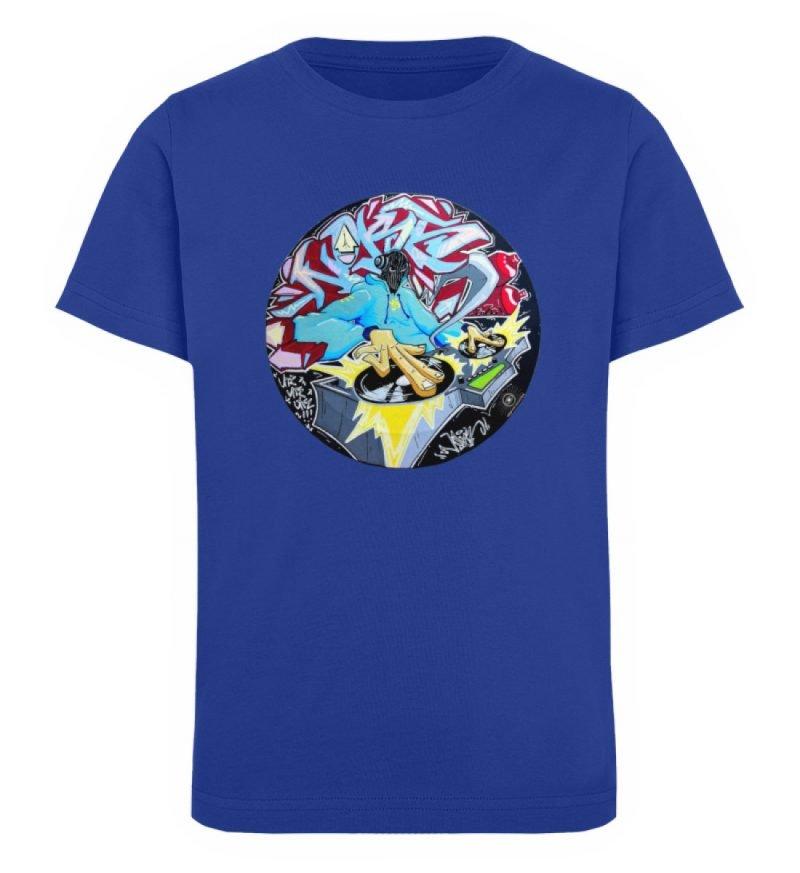 """""""Noks auf Platte"""" von Third Eye collecti - Kinder Organic T-Shirt-668"""