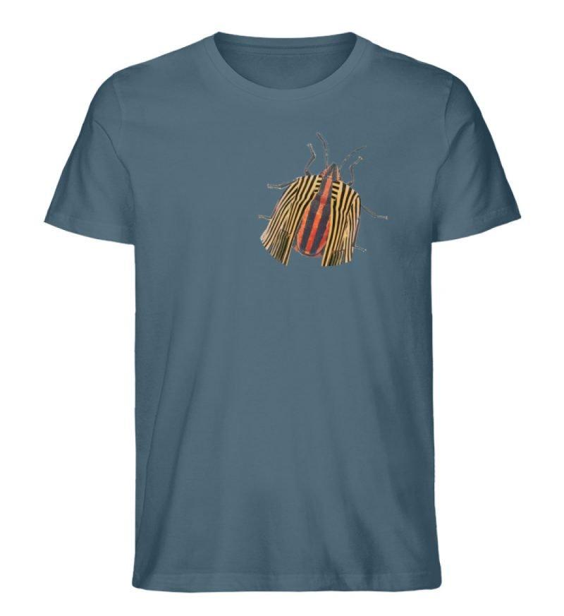"""Glyphosoma lineatus"" von C. Pauly - Herren Premium Organic Shirt-6880"