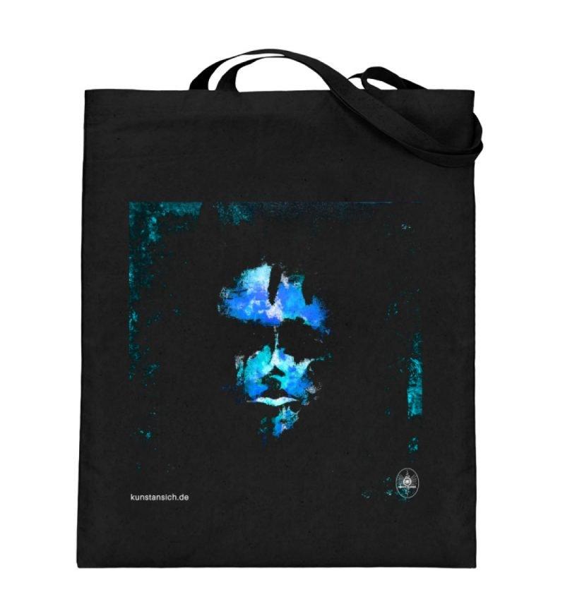 """""""deep blue"""" von Third Eye Collective - Jutebeutel (mit langen Henkeln)-16"""