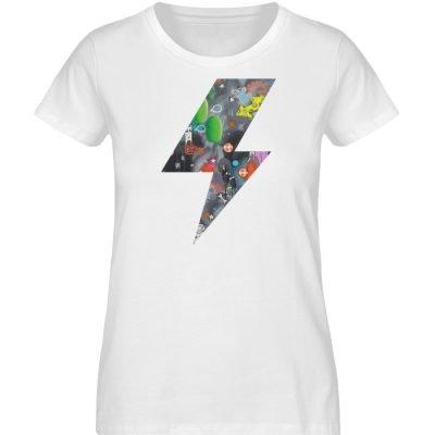 """""""We will rock you"""" von Susanne Beucher - Damen Premium Organic Shirt-3"""