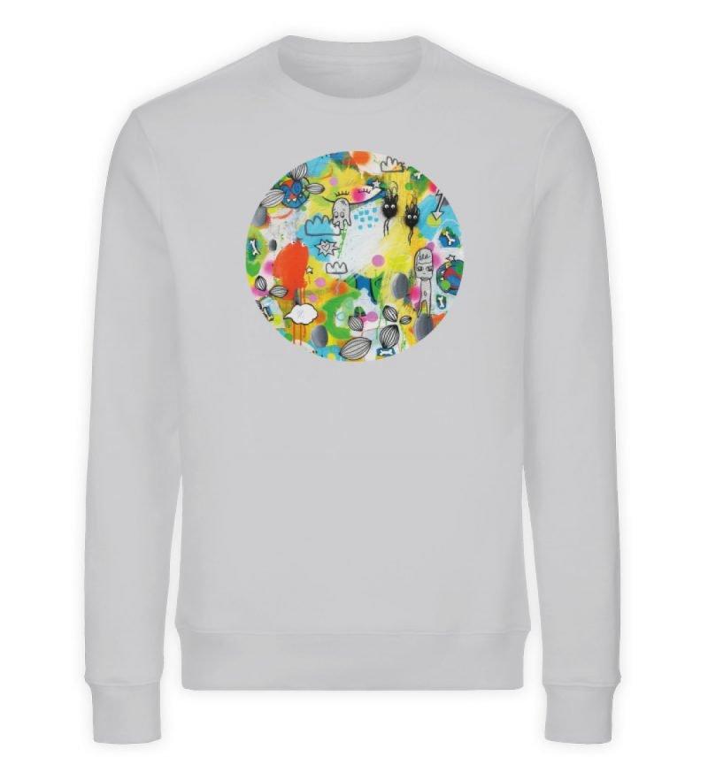 """I´ts like a jungle sometimes"" von Susan - Unisex Organic Sweatshirt-17"
