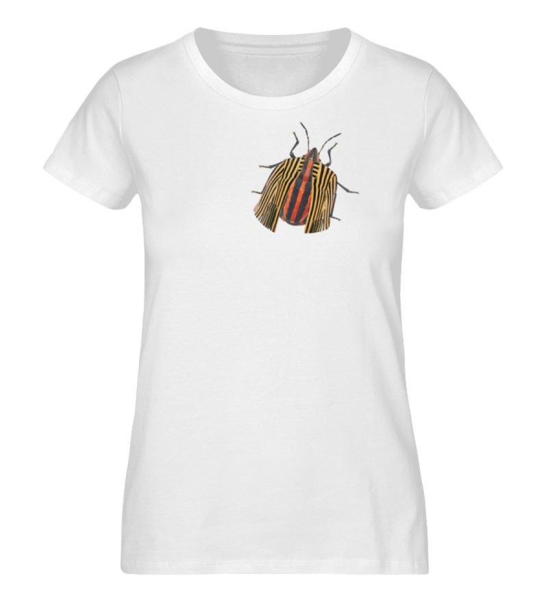 """Glyphosoma lineatus"" von C. Pauly - Damen Premium Organic Shirt-3"
