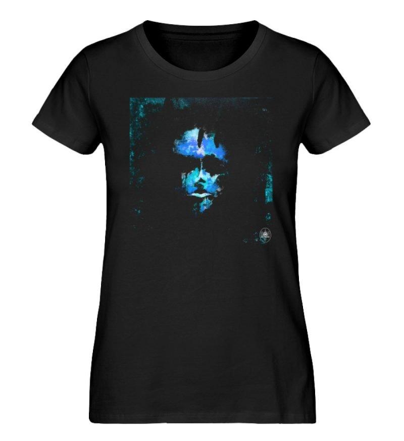 """""""Deep blue"""" von Third Eye Collective - Damen Premium Organic Shirt-16"""