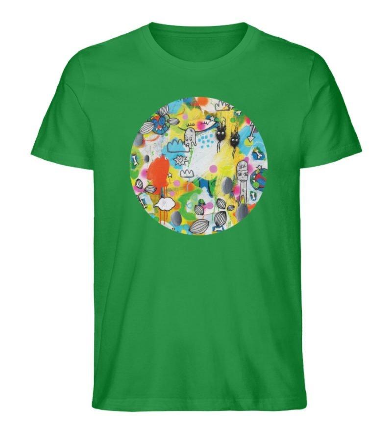 """I´ts like a jungle sometimes"" von Susan - Herren Premium Organic Shirt-6879"