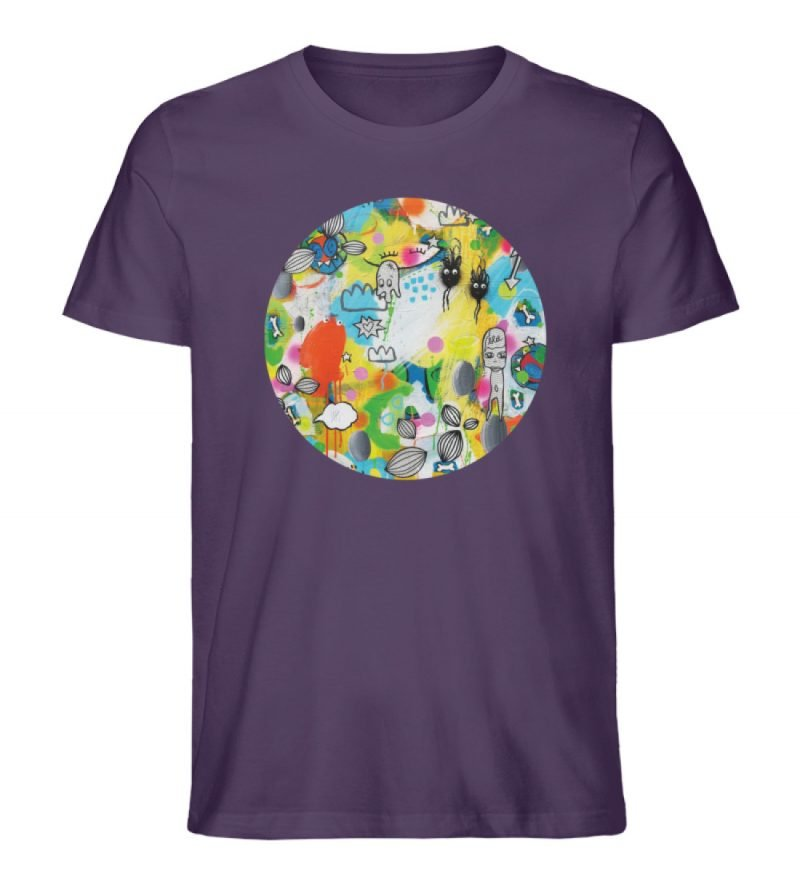 """I´ts like a jungle sometimes"" von Susan - Herren Premium Organic Shirt-6876"